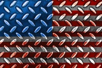 American Flag, imagery, financial crisis