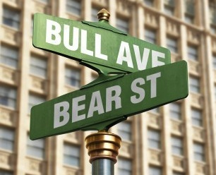 financial market uncertainty, bull market, bear market
