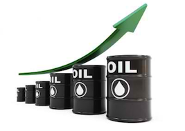 Crude Oil Prices Rising