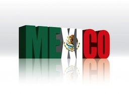 mexico in flag colors