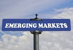 emerging markets sign