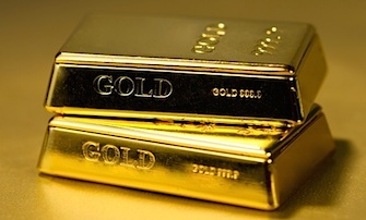 shiny gold bars