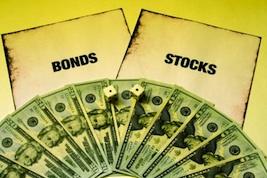 stocks to bonds graphic