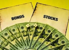 Stocks Bonds Performance Ratio Testing Resistance