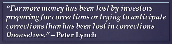 Peter Lynch quote_market corrections