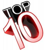 top ten, list, best, number one, 1