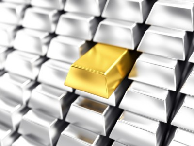 gold and silver bars, precious metals