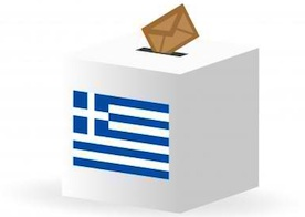greece, voting box
