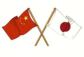 china, japan, chinese, japanese, flags, relations, tensions, history, peace, war, summit