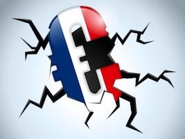 french flag, french economy, euro, france, economic crisis, debt crisis