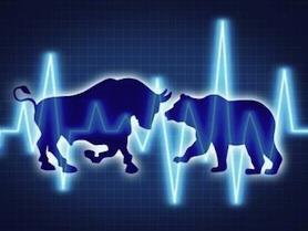 wall street bull vs bear, wall street, bull, bear, stock market volatility