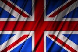british flag, london england
