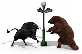 stock market bull bear