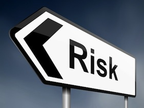 stock market risks sign
