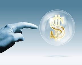 stock price bubble