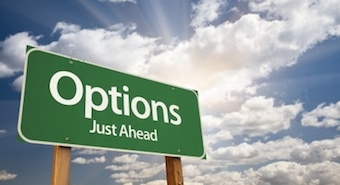 options trading sign