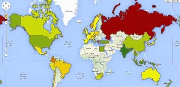 global map investing diversification