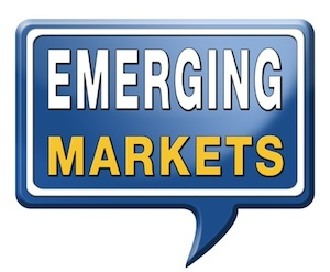 emerging markets sign