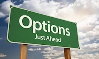 stock options sign