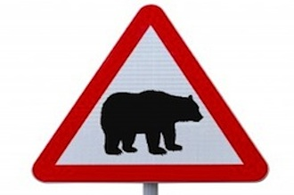 bearish stock market sign