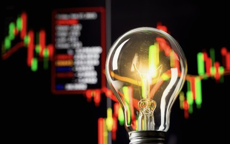 trading strategies light bulb