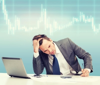 investor stressed by markets