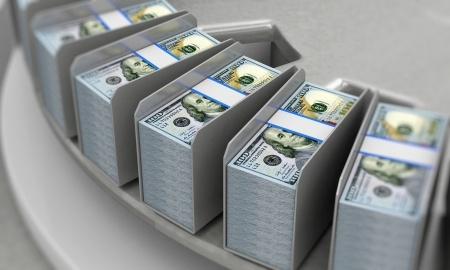 federal reserve 100 dollar bills