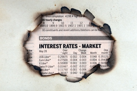 interest rates newspaper spot