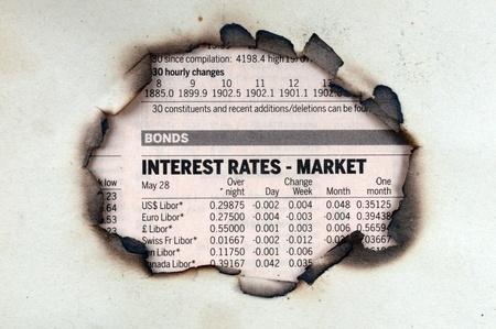interest rates newspaper spot
