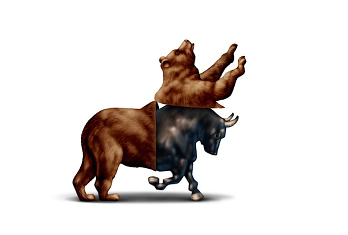 Trading options in a bear market