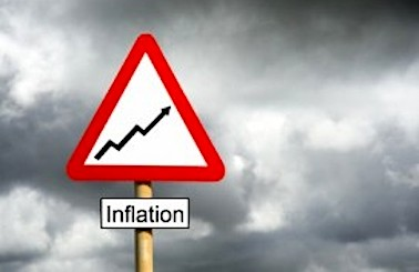 rising inflation warning sign