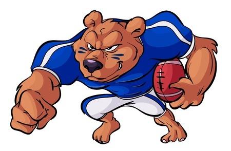 stock market bear football