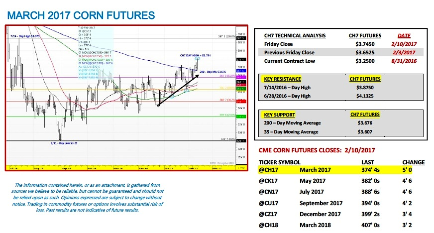 Us Corn Futures Weekly Outlook Is The Rally On See It Market