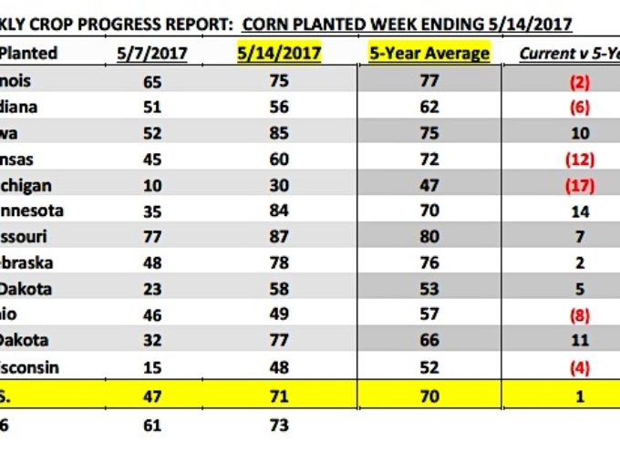 U.S. Corn Futures Weekly Review & Outlook – May 22