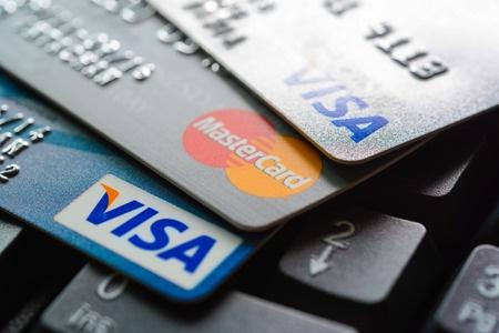 visa mastercard credit cards image