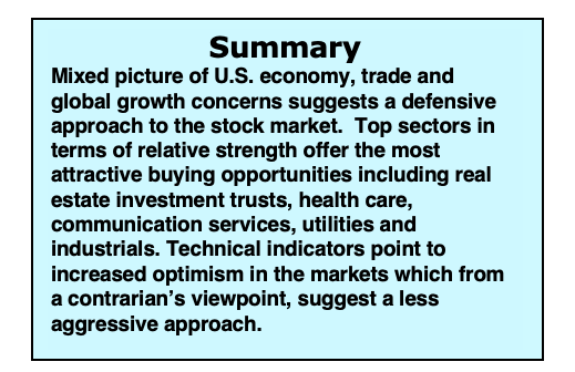 us economy summary data week february 11