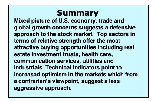 us economy summary data week february 11