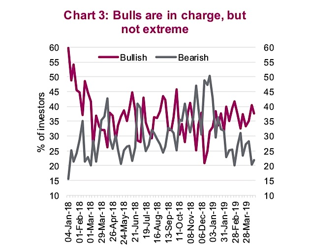 bulls bears investor sentiment chart bullish animal spirits year 2019