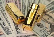 gold miners investing gold bars image