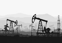 oil rigs declining energy sector image