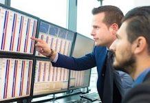 trading etfs stock market image