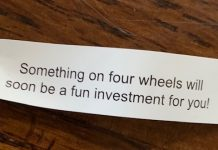 four wheels fortune - car stocks investing image