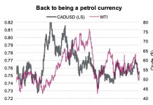 canadian dollar petrol oil currency