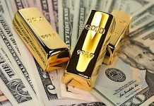 gold price reversal dollar image