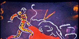 stock market bull matador image