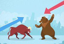 coronavirus market crash bull bear image