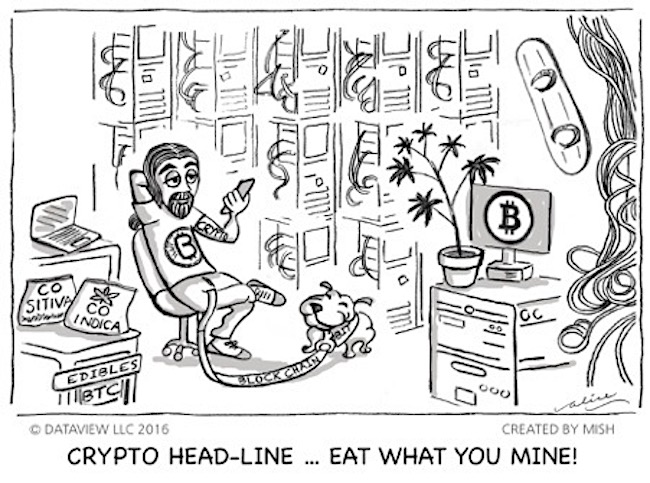 cryptocurrency bitcoin investing research cartoon